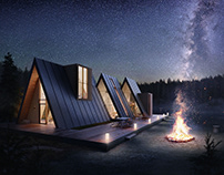 Lost - Cabin Concept by Atelier Monolit