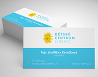 Logo/Web Redesign (client: Dětské centrum, Liberec)