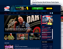 PDC website redesign concept
