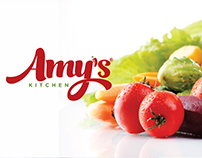 Brand Identity Design for Amy's Kitchen
