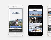 Wander - Travel App