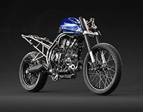 Triumph Tiger XC Build Up CGI
