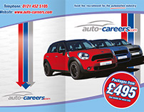 Auto Careers A5 4pp Leaflet