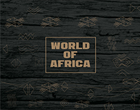 Website design and coding - World of Africa