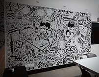Mural / Escritório Brilia