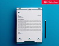 Free Letterhead Template download || Freebie