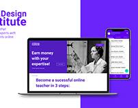 UX Case Study Art&Design Institute EduTech