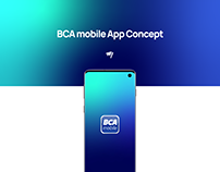 BCA mobile App Concept