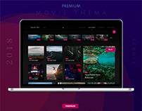 Premium Movie & Video - Play Theme Web Design!