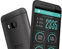 HTC M9 FunFit APP UI