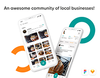 Awesome Local Businesses Community Application