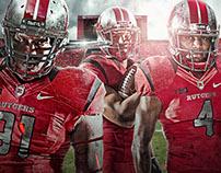2015 Rutgers Football Season Poster