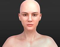 character modeling (female)