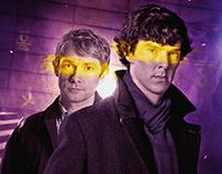 Sherlock Comics - Digital Art Covers