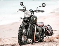Triumph Bonneville by AlosGroup