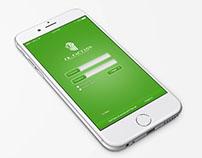 Mobile App Login Screen Design Inspiration