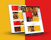 A website Presentation for M & I FOODS