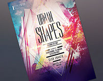 Urban Shapes Flyer