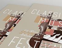 Variazioni | Classic Music Festival Poster