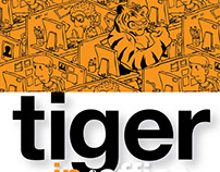 Tiger in the Office