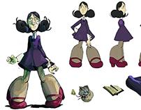 Pendulum 2015 - Character Designs + Concepts