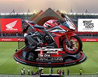 Augmented Reality Honda CBR 150r