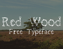 Red Wood Typeface