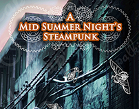 A Mid Summer Night's Steampunk (Cover design)