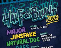 Half A Blunt Live 2017/6/17