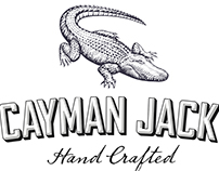 Cayman Jack Brand Identity Illustrated by Steven Noble