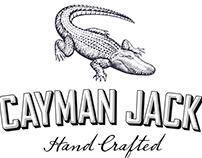 Cayman Jack Brand Identity Illustrated by Steven Noble