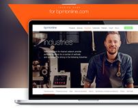 Landing page for Terrasoft Company