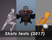 Shots tests 2017