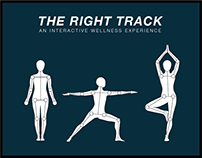 The Right Track: An Interactive Wellness Experience