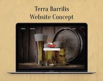 Terra Barrilis Website Concept