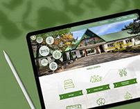 Strona www dla ośrodka szkoleniowo-wypoczynkowego