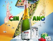 Cinzano. Live sparkling