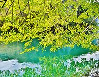 Plitvickie Lakes in autumn