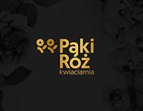 Pąki Róż - Florist Brand Identity
