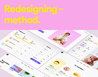 Method - Web UI/UX redesign