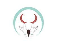 Muntjac logo design