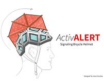 Activ Alert- Signaling Bicycle Helmet Concept