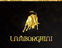 LAMBORGHINI Business card