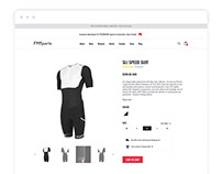Minimalist Product Page for a Boutique Sport Store