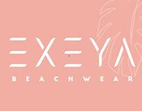 EXEYA Beachwear - Identity, Packaging and Social Media