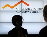 Armenian Startup Academy Berlin: Logo & Visual Identity