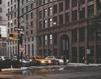 CGI - STREET IN CHICAGO
