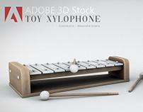 Adobe 3DStock - Toy Xylophone