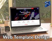 Vived Seats Website Template Design