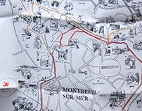 La Grenouillère - carte au trésor